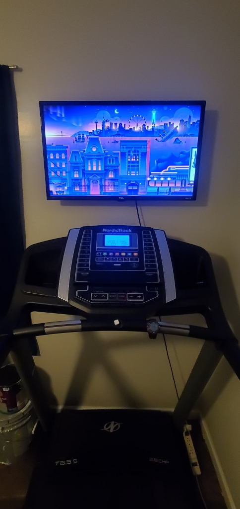 This is photo of my Nordic Tredmill